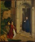 Благовещение, Ян Ван Эйк, 1440 г.
