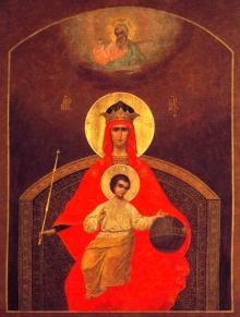 Икона Богородицы 'Державная'