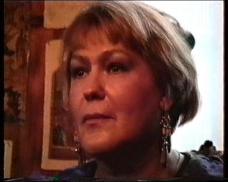 Л.Я. Резник на парной медитации с учеником. 1995 г