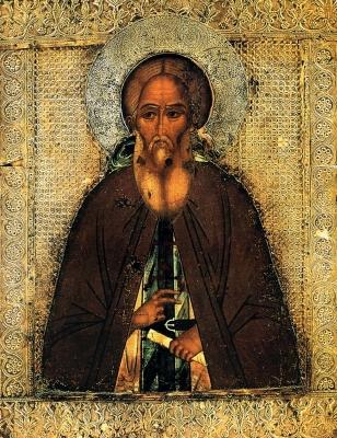 Icon Sergius of Radonezh