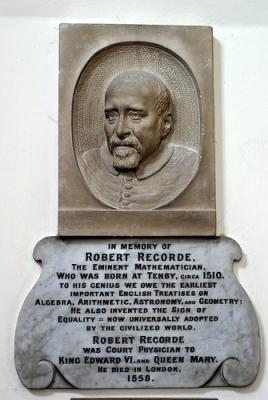 Английский математик и физик Роберт Рекорд