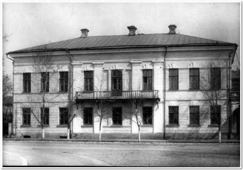 Дом губернатора А.М. Фадеева, в котором жила Е.П. Блаватская в детстве