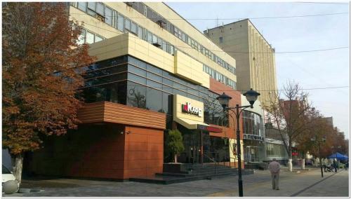 Издательский комплекс, построенный на месте дома А.М. Фадеева