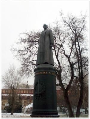 В парке у ЦДХ - Ф.Э. Дзержинский