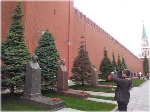 Фотографируем памятник Ф.Э. Дзержинскому