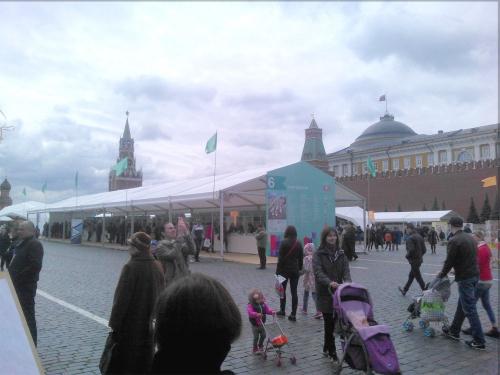 Ярмарка расположилась на всей территории площади