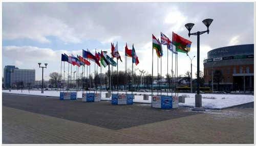 Флаги участников