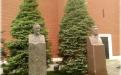 Памятники Ф.Э. Дзержинскому и Л.И. Брежневу