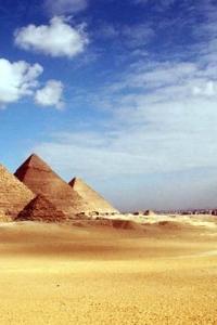 Большие пирамиды плато Гизы