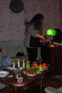 Людмила. Ужин