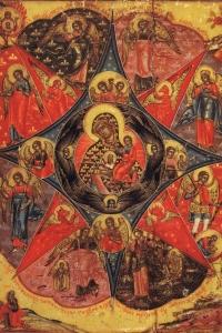Икона 'Неопалимая Купина'