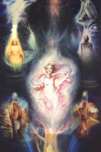 Лестница Ангелов - Неопалимая Купина Ветхого Завета - семь уровней Пятого царства природы