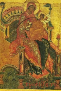 """Богоматерь """"Гора Нерукосечная"""" - Великая Защитная Стена, или воплощённая Монада"""