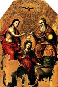 Коронование Марии - становление Новозаветной Троицы