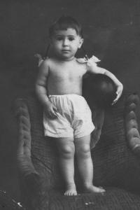 Людмила Резник в 1943 году