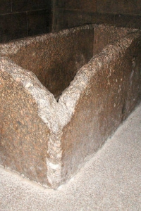 Камера царя, саркофаг для церемонии посвящений