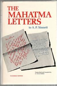 """Письма Махатм"" на английском, одно из изданий"