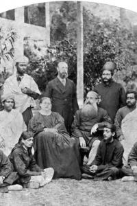 Основатели ТО и индийские ученики