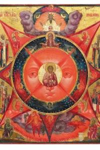"""Православная икона """"Всевидящее Око Божие"""""""