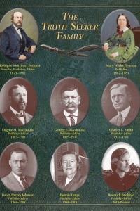 """Редакторы журнала """"The Truph Seeker"""" с 1873 года"""