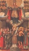 Икона «Покров Богоматери», 1751 г.