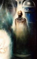 'Махатма Мория' - фрагмент картины А. Рекуненко 'Древо Жизни. Неопалимая Купина'