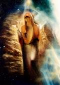 'Матерь Камня'- фрагмент картины А. Рекуненко 'Древо Жизни. Неопалимая Купина.'