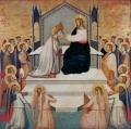 Коронование Марии. Мазо ди Банко. XIV век