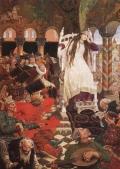 Картина В. Васнецова 'Царевна Несмеяна'
