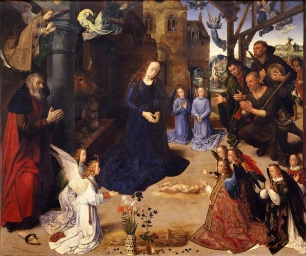 Рождество Христа. (Гуго Ван дер Гус)