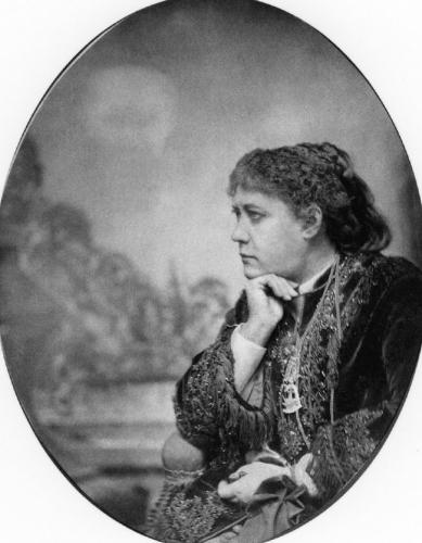 фото Елена Петрова Блаватская, 1874 год
