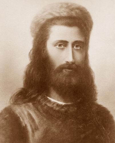Портрет Махатмы Кут Хуми, худ. Г.  Шмихен,  1884 г.