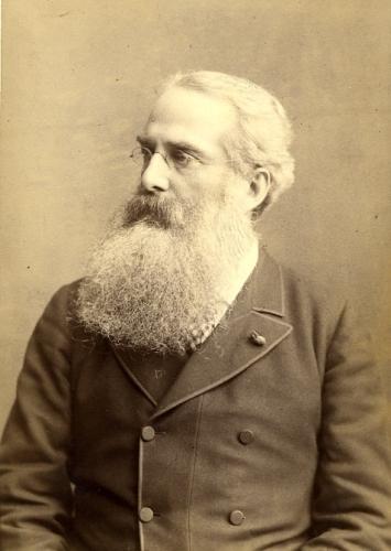 фото Генри Стилл Олькотт, 1884 г.
