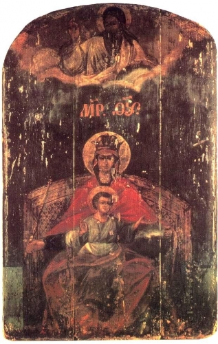 """Our Lady Derzhavnaya (""""The Sovereign"""", """"The Reigning Icon"""")"""