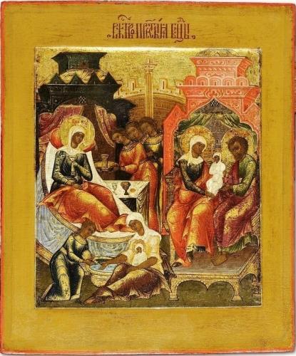 Рождество Пресвятой Богородицы, Икона.