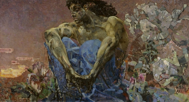 Mikhail Vrubel. 'The Demon sitting'
