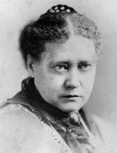 Helena Petrovna Blavatsky, photo before 1878