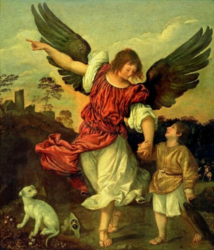 'Archangel Raphael and Tobias', Titian