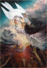 Картина А. Рекуненко 'Финист - ясный сокол'
