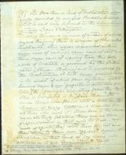 Третья страница Письма ML-16 Махатмы Кут-Хуми - Синнетту