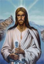 Картина А. Рекуненко 'Христос-воин'