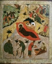 The Birth of Christ. Icon.
