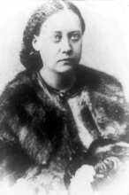 Helena Petrovna Blavatsky, photo 1868