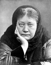 Helena Petrova Blavatsky, photo 1 January 1889, London