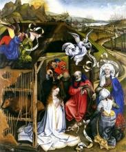 Adoration of Shepherds. Robert Campin