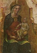 Матерь с младенцем. Мастерская Паоло Венециано. Венецианский художник. 1324-1362 гг.