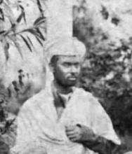 Нитьянанда Мисра, фото с конгресса ТО в 1882 г. в Бомбее
