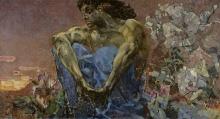Mikhail Vrubel. 'The Demon sitting'