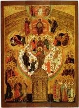 "Icon of the virgin ""What's Ya name"" (Russia, XVII century)"