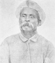 Tookaram Tatya, 1884 (retouched photo)